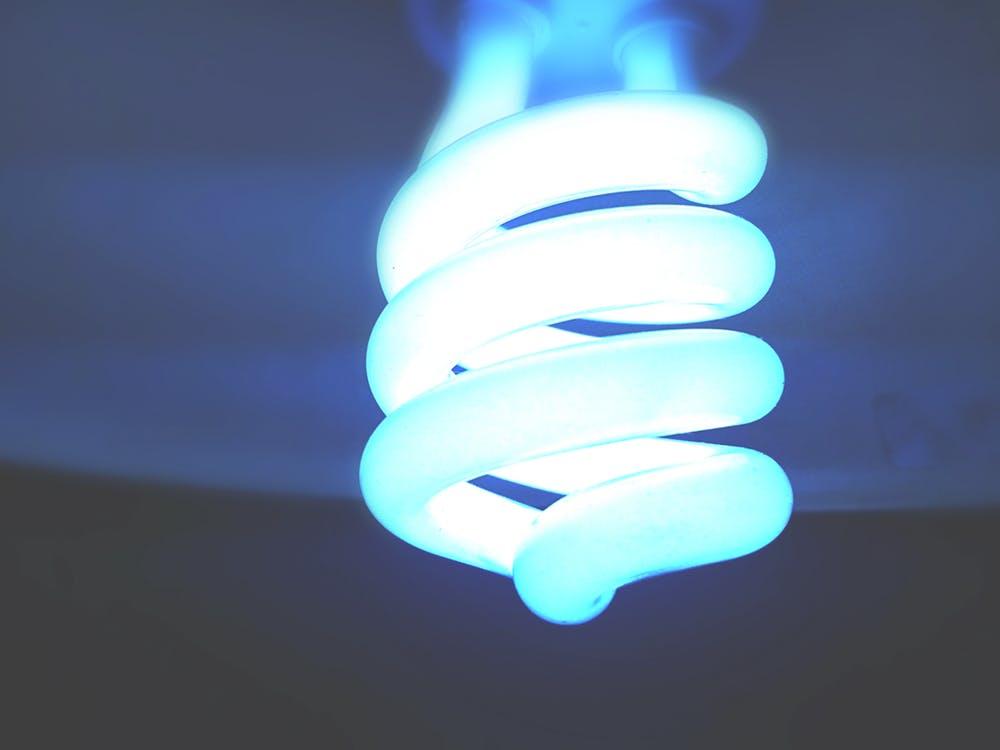 LED belysning för badrummet